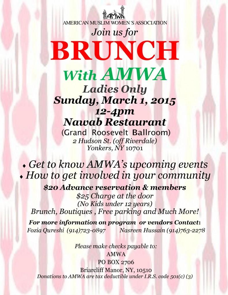 AMWA Brunch 1-Mar-2015