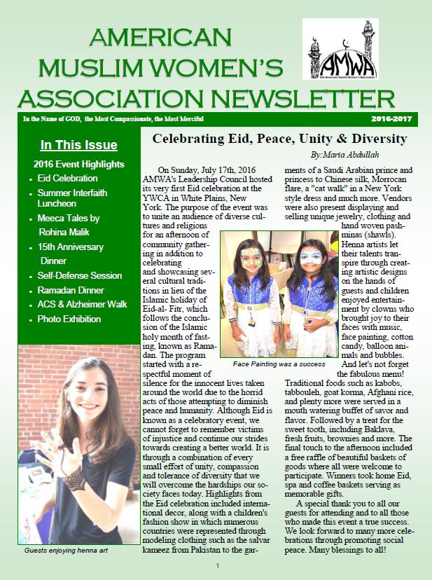 AMWA Newsletter 2016-17-P1