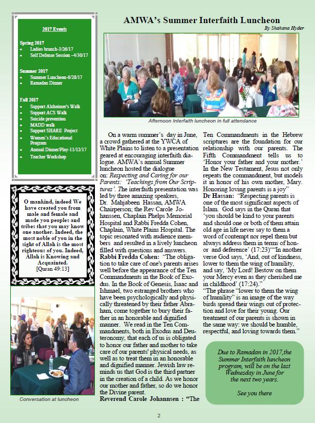AMWA Newsletter 2016-17-P2