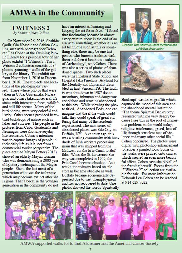 AMWA Newsletter 2016-17-P7