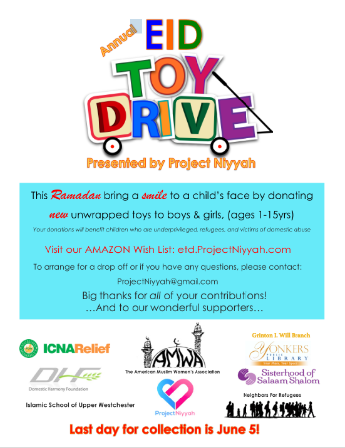 Eid Toy Drive 2018