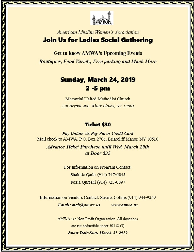 Ladies social gathering 2019