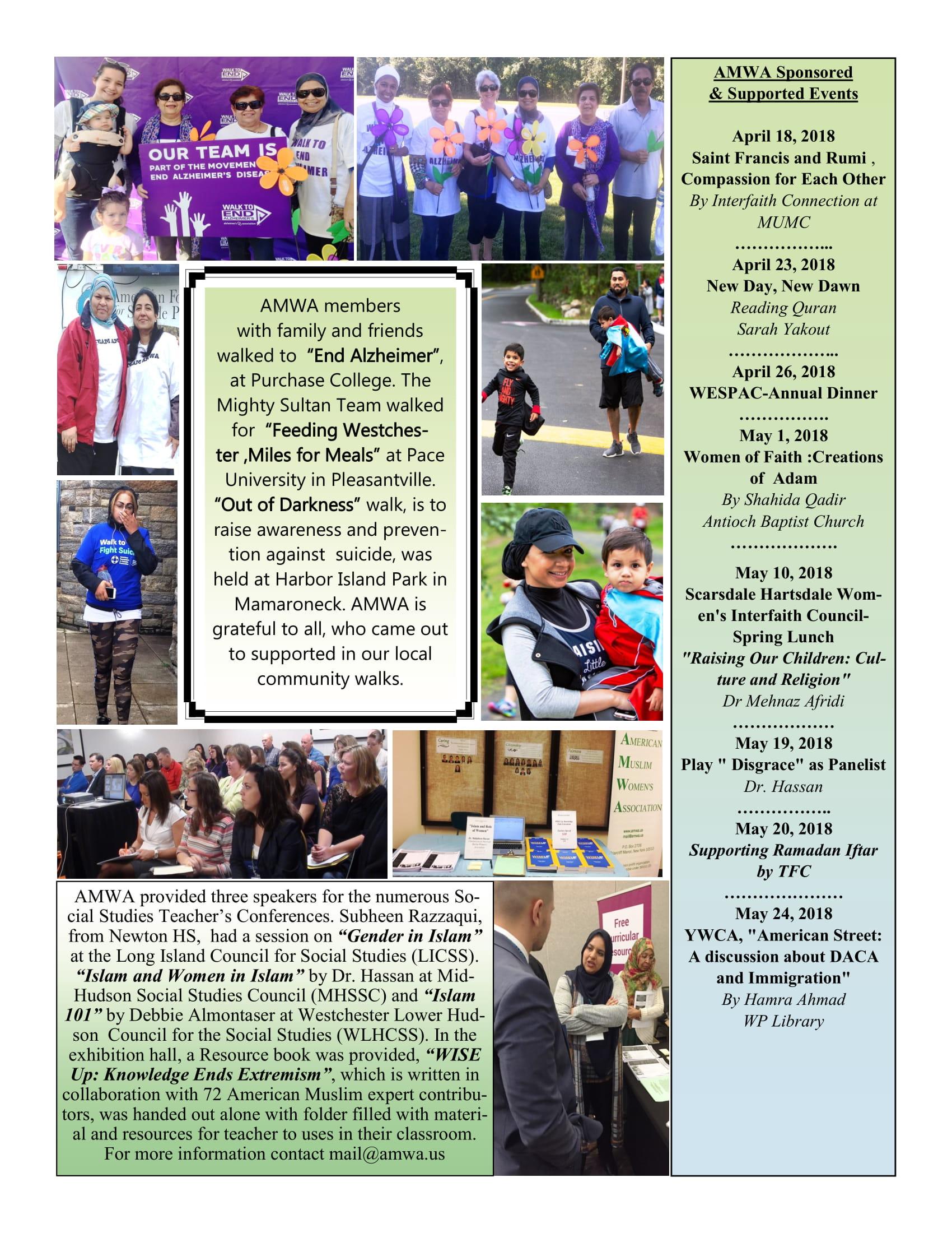 AMWA's Newsletter 2019
